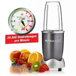 NutriBullet Extraktor Basis-Set 600W 12teilig gold