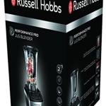 Russell Hobbs 22260-56 Performance Pro Standmixer mit 5 Geschwindigkeitsstufen, 5 voreingestellten Programmen, Impuls-Ice-Crush-Funktion