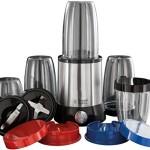 Russell Hobbs 23180-56 Brushed Stainless Steel 15 Piece 700W Nutri Boost Multi Blender {4008496892433}
