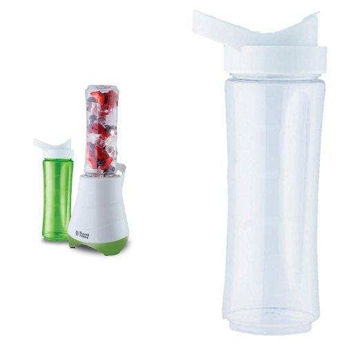 Russell Hobbs Standmixer Mix & Go /Smoothie Maker inkl. 3 Trinkflaschen, BPA-frei