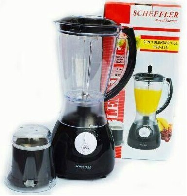 Smoothie-Maker Mini-Blender Smoothiemaker Icecrusher Standmixer Mixer Entsafter sales by JOLTA® (Standmixer 2-in-1 Black)