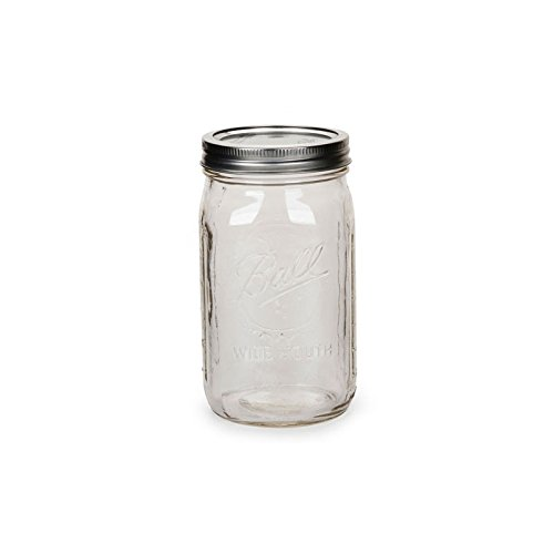 Weckglas Mason Jar Ball 32 oz Wide Mouth x1