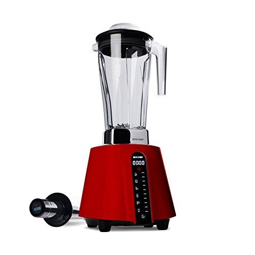 BioChef Living Food Standmixer - Hochleistungsmixer - Küchenmaschine - Inkl. Rezeptbuch,DVD ,Smoothie Flasche und 10 Jahren Garantie auf den Motor!