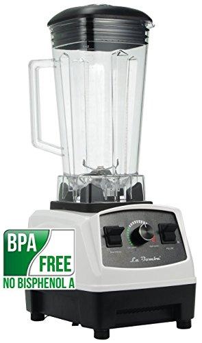 Mixer La Bomba® Competizione GT b/n, Hochleistungsmixer, Profi Smoothiemaker, Blender, 1500 Watt, 36000 rpm, BPA frei