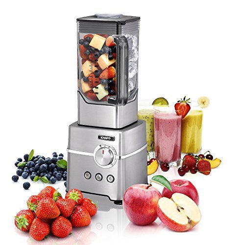 Power Mixer & Smoothiemaker Edelstahl Standmixer
