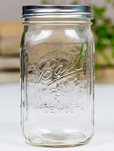 Ball Mason Jar 32oz Wide Mouth 6er/Set