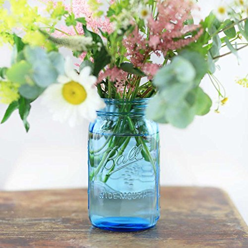 4 x Ball Mason Jar | Blau 950 ml
