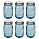 Ball Mason Jar Heritage Collection 16oz Blau 6er/Set