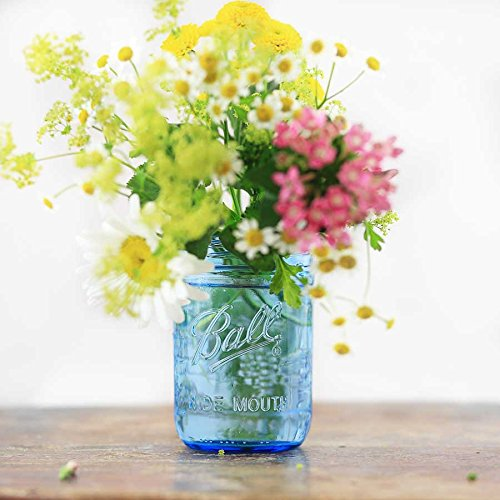 4 x Ball Mason Jar | Blau 475 ml