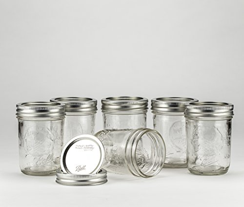 Ball Mason Jar 8oz Regular Mouth 6er/Set